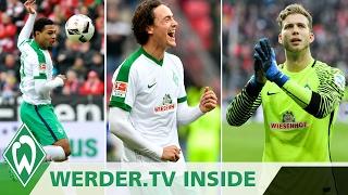 Serge Gnabry, Thomas Delaney, Felix Wiedwald - Typ der Woche?   WERDER.TV Inside nach Mainz 05   SVW