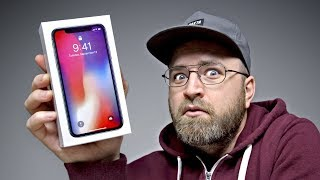 Unboxing The iPhone X Clone Edition