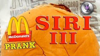 McDonalds PRANK ! SIRI bestellt - REKORD beim BESTEN Macces Deutschlands ! | RichtigKorrekteJungs