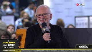 Ian McDiarmid Takes The Stage At SWCC 2019 | The Star Wars Show Live!