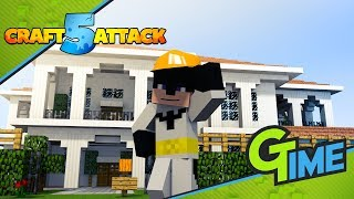 Das wird mein Haus in dieser Staffel Craft Attack - Minecraft Craft Attack 5 #04 | Gamerstime