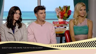 "Zac Efron, Alexandra Daddario, Kelly Rohrbach ""We Love Chest Hair"""