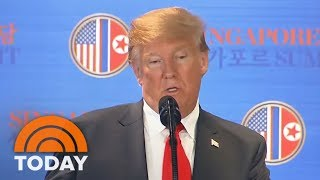 Kim Jong Un Vows To Denuclearize North Korea In Historic Summit With President Donald Trump   TODAY