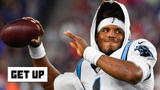 Cam Newton suffers a sprained ankle in the Panthers' preseason game vs. the Patriots | Get Up