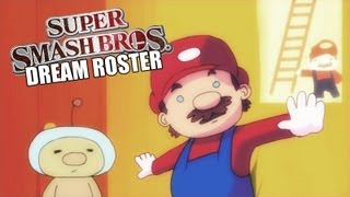 Smash Bros 4 : Dream Roster