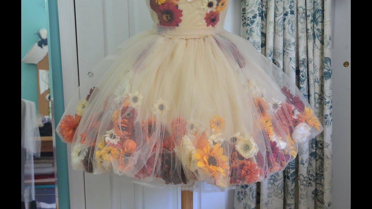Сделать цветок для платья своими руками