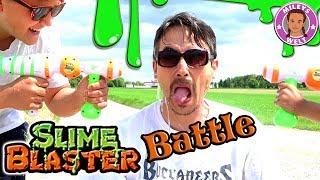 EKELIGE SCHLEIMSCHLACHT Slime Blaster Pistolen - Wasserpistolen | MILEYS WELT