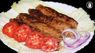 Seekh Kabab Recipe - How to make Barbecue Seekh Kebab Recipe by Kitchen With Amna