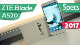 ZTE Blade A520 - Specs 2017