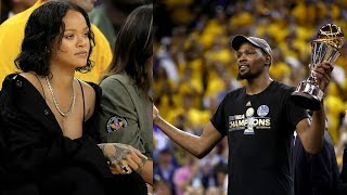 Kevin Durant Gets the LAST Word in Feud with Rihanna