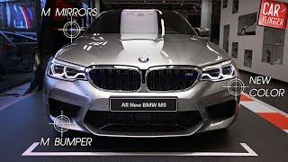 INSIDE the NEW BMW M5 2018 | Interior Exterior DETAILS w/ REVS