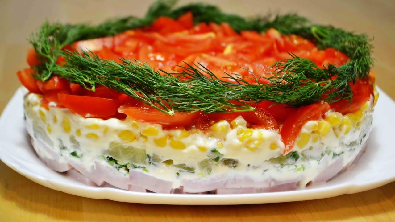 очень праздничный рецепт салата фото