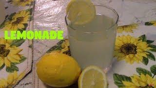 Easy Homemade Lemonade- Summer Recipe - Pakistani/Indian Cooking with Atiya