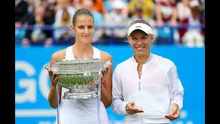 2017 Aegon International Final | Karolina Pliskova vs Caroline Wozniacki | WTA Highlights