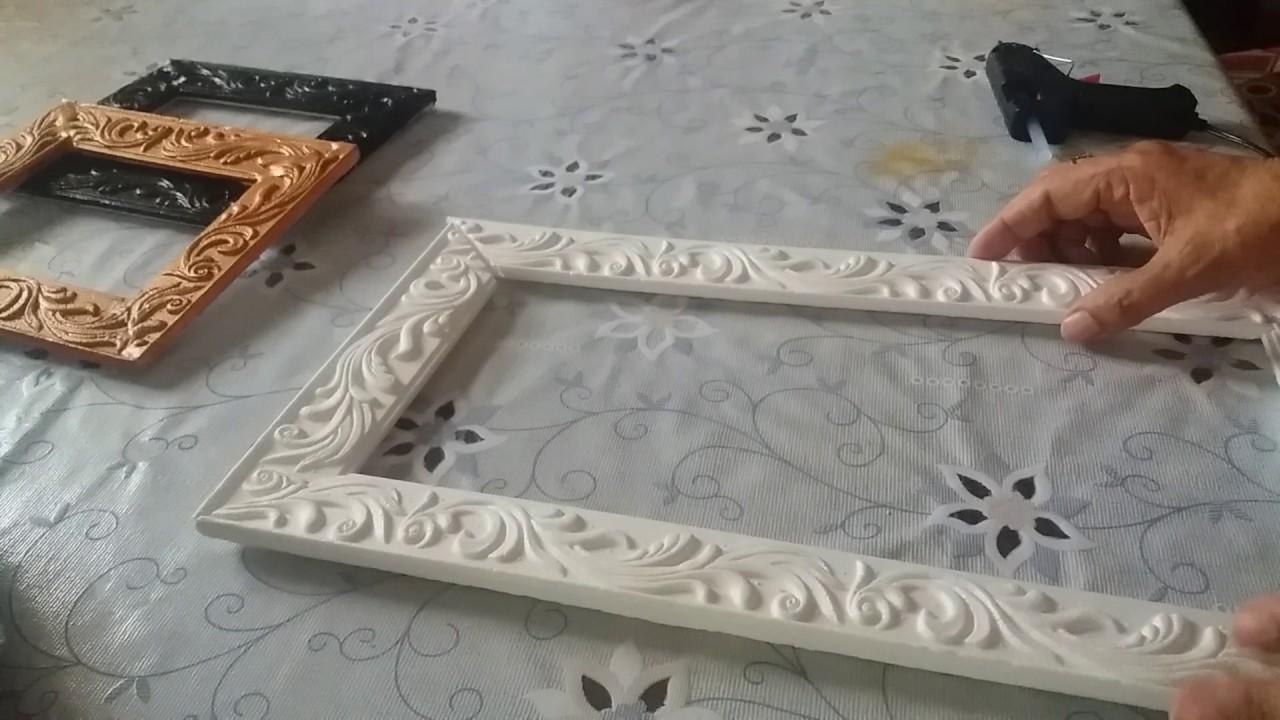 Сделать рамку для из пенопласта