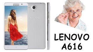 Lenovo A616 Smart Phone Review (Pants) - My GRAN has more MEMORY and CRASHES LESS than this thing