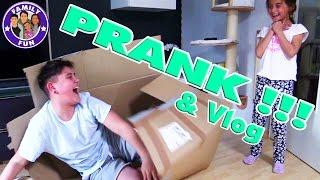 CIHAN PRANKT MILEY !! Kira erschrocken? Vlog #73 Our life FAMILY FUN
