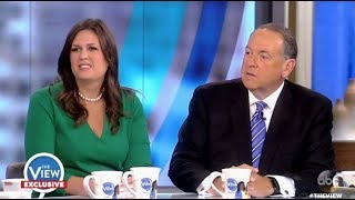 Panel Grills Sarah Huckabee Sanders & Dad Mike - The View