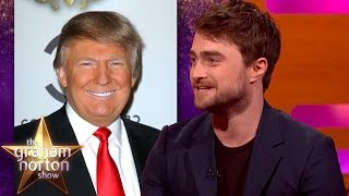 Donald Trump Gave Daniel Radcliffe Chat Show Advice - The Graham Norton Show