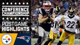 Steelers vs. Patriots | AFC Championship Game Highlights