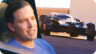 Ben Affleck Surprises Fans in the Batmobile // Omaze