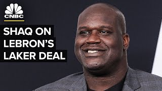 Shaq on LeBron