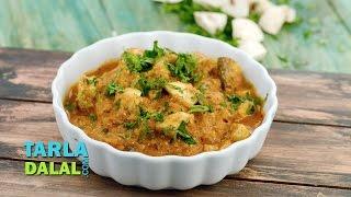 Mushroom Curry by Tarla Dalal