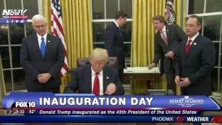 FNN: Obamacare Closer To Being Repealed After Executive Order Signed By President Trump WATCH