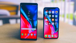 iPhone X vs Samsung Galaxy Note 8: There