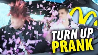McDonalds PRANK | TURN UP PRANK im McDrive