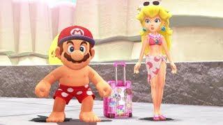 Super Mario Odyssey - All Peach Locations (All Kingdoms)