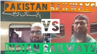 PAKISTAN RAILWAYS vs INDIAN RAILWAYS, A traveller