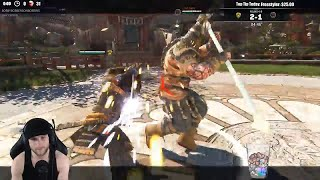 For Honor S6 - DUELING THE BEST RAIDER IN WORLD! LORD DEM! (MENTAL)