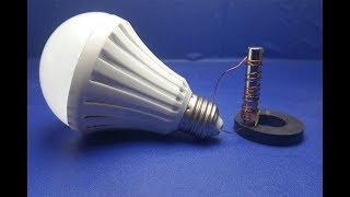 Free Energy light blub device with magnet mini 100%  - New idea