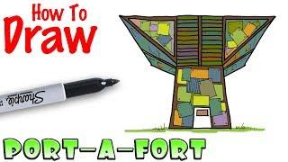 How To Draw Vending Machine Fortnite Videos Line