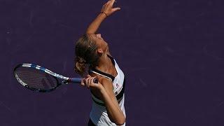 2017 Miami Open Third Round | Karolina Pliskova vs Yulia Putintseva | WTA Highlights
