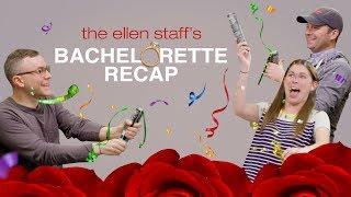 Ellen's Staff Welcomes Becca as the New Bachelorette!