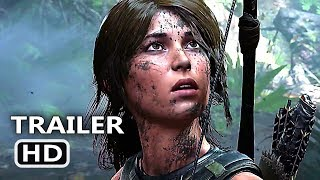 """SHADOW OF THE TOMB RAIDER """"E3 2018"""" Trailer (2018) Blockbuster Game HD"""