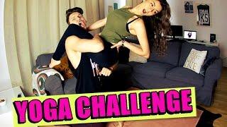 YOGA CHALLENGE !! (feat. Ksgirl) 4.0 | Ksfreakwhatelse