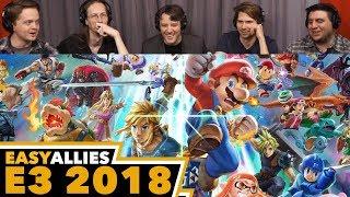 Super Smash Bros. Ultimate - Easy Allies Reactions - E3 2018
