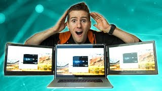 The REAL Triple Monitor Laptop - Slidenjoy