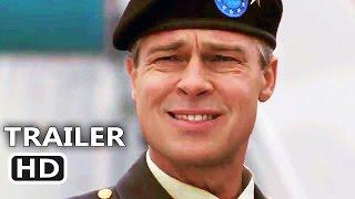 WAR MACHINE Official Trailer (2017) Brad Pitt, Netflix Movie HD