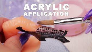 DIY Nail Workshop - Acrylic Application