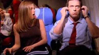 House MD on Friends - Behind the Scene