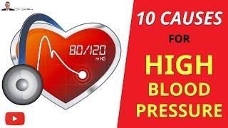 ► TOP 10 Causes Of High Blood Pressure