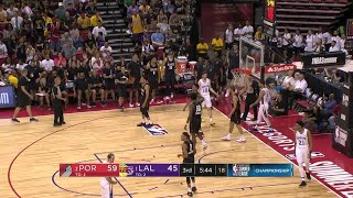3rd Quarter, One Box Video: Los Angeles Lakers vs. Portland Trail Blazers