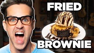 Deep Fried Brownie Sundae Taste Test