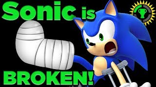 Game Theory: Can Sonic SURVIVE His Own Speed? (Sonic the Hedgehog)