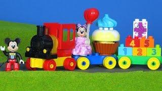 Mickey Maus Wunderhaus deutsch: Micky Zug Bau für Kinder | Mickey Mouse Clubhouse Züge Kinderfilm