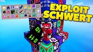 SEXTILLION SCHADEN EXPLOIT SCHWERT | LUCKY BLOCKS TOWER